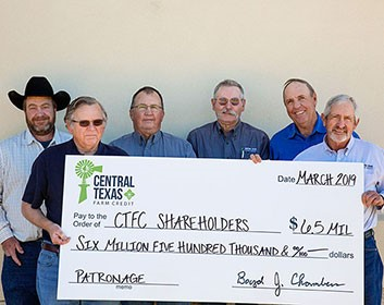 Board holds patronage check for $6.5 million
