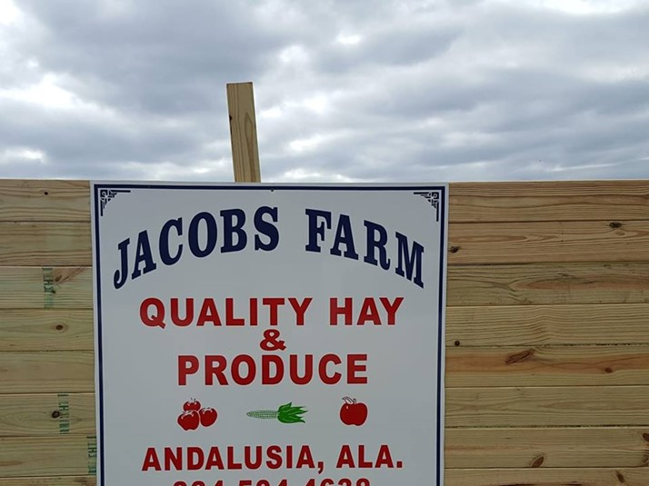 Jacobs Farm Sign